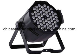 CE&RoHS RGB 3W*54 LED etc PAR Light