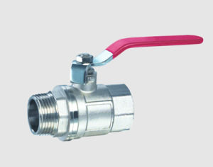 High Quality Nickel Plating Male/Female Brass Ball Valve