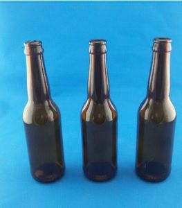 330ml Amber Beer Bottle/ Amber Wine Container/ Glass Bottle pictures & photos