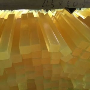 Light Yellow Color Polyurethane Rods, PU Rod, Polyurethane Bar, PU Bar with 80-90shore a pictures & photos