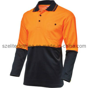 Wholesale Safety En471 Reflective Work Polo Shirt ANSI Class 3 (ELTHVJ-80) pictures & photos