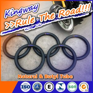 Natural and Butyl Inner Tube for Motorcycle 4.00-16