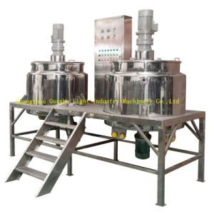Wash Liquid Mixer Unit with Homogenizing & Platform pictures & photos