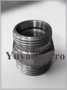 Hydraulic Armaturen Zinc-Nikel Male Connector pictures & photos