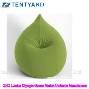 Green Drop Shape Cotton Beanbag Chair (BB 0119)