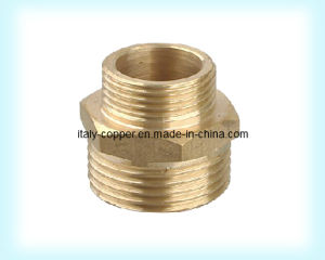 Brass Forged Reduce Nipple/Coupling (AV9002) pictures & photos