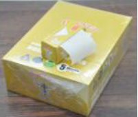 Yellow White 5 Meter Smoking Rolling Paper 24 Roll/Box (ES-RP-057) pictures & photos