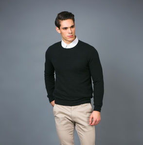 Men′s Fashion Cashmere Sweater 17brpv069 pictures & photos