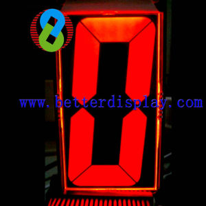 Va LCD Panel with Red Backlight Backlight Used in Elevator pictures & photos