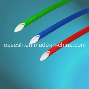 Chinese Manufacture Fiberglass Braided Silicone Sleeving pictures & photos
