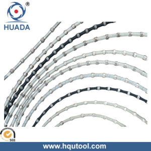Diamond Wire for Granite Marble Blcok Squaring pictures & photos