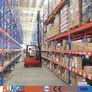 Ali Racking Warehouse Heavy Duty Selective Pallet Racking Industrial Storage  Shelving Conventional Dexion Rack
