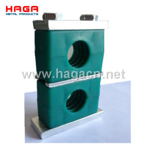 Aluminum Double Heavy Duty Hydraulic Pipe Clamp pictures & photos