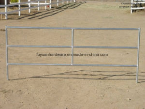 Hot DIP Galvanized Steel Square Tube Cattle Yard Panel pictures & photos