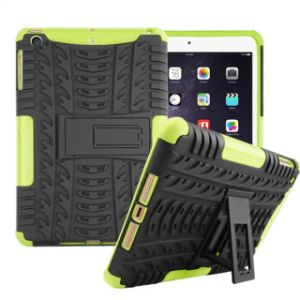Silicone Plastic Hybird Armor Combo Tablet Case for iPad 2/3