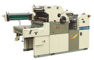 One Color Offset Printing Presses with Numbering and Perforating Function (YC47IINP)