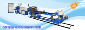 Single Layer Sheet Extruder Line pictures & photos