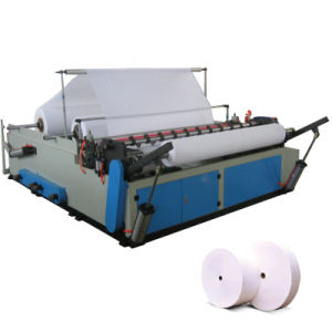 High Speed Jumbo Roll Paper Slitting and Rewinding Machine pictures & photos