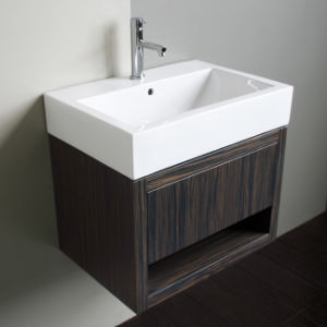Customizable Solid Wood Veneer Sanitary Ware Bathroom Vanity Bathroom Furniture