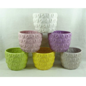 Popular Designs Garden Decor Ceramic Graden Flower Pot