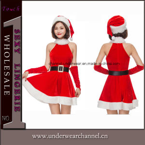 2018 Newest Sexy Women Adult Party Christmas Costume (TDD80357) pictures & photos