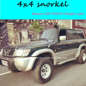 4X4 off-Road Car Snorkel for Nissan Gu Patrol Wagon (Y61)