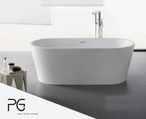 Dongguan Manufacturer OEM White Color Matte Cast Iron Bathtub Price