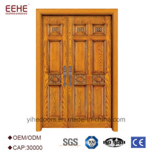 China Karachi Teak Wood Front Double Doors Carving Designs China