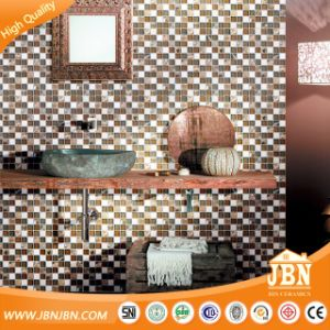 Classical Style Cold Spray Glass and Marble Stone Mosaic (M855052) pictures & photos