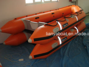 Liya 12.5-22feet Rubber Boat Hypalon Inflatable Boat with Motor pictures & photos