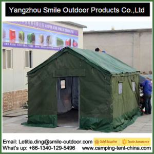 6 Persons 3X4m Outdoor Blue Livable Disaster Relief Refugee Tent pictures & photos