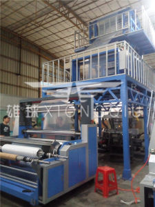 3 Layers Co-Extrusion Film Blowing Machine