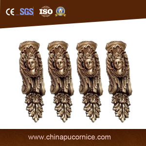 Polyurethane Exquisite PU Exotic Corbel for Hotel Decor
