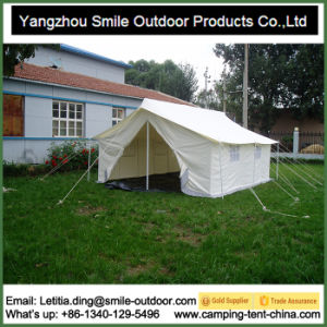 Square Waterproof Camping Manual Assembly Gazebo Tent pictures & photos