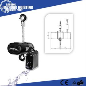 China Manufacturer Competive Price 0.5ton Stage Chain Hoist