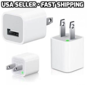 A1385 Us Charger USB Power Adapter Wall Charger for iPhone 655s5c