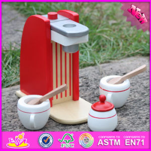 2017 Wholesale Baby Wooden Toy Coffee Machine, Role Play Kids Wooden Toy Coffee Machine, Best Wooden Toy Coffee Machine W10d136 pictures & photos