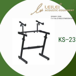Heavy-Duty Double X Keyboard Stand (KS-23) pictures & photos
