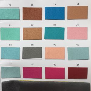 Shoes Lining Fabric PU Leather for Lining pictures & photos