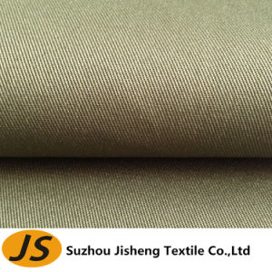 75D*200d Waterproof and Milky Coated Twill Polyester Fabric
