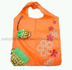 Fashion Foldable Fruit Promotional Bag with 3D Pouch pictures & photos