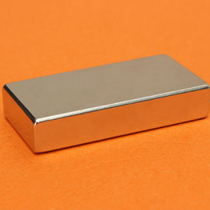 High Quality Custom Block Shape Permanent Magnet
