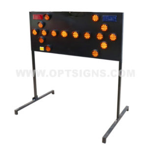 OEM Middle East Market Road Construction Arrow Boards, Directional Arrow Boards, Portable Directional Arrow Boards pictures & photos