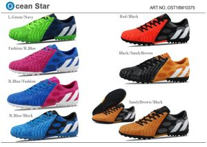 Latest Fashion Football Shoes Men Soccer Shoes pictures & photos