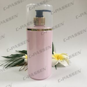 250ml Plastic Packaging PE Bottle with Alumite Lotion Pump (PPC-PB-068) pictures & photos