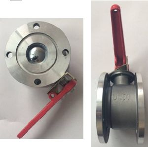 Dn50 Strainge Ball Valve Round Ball Valve pictures & photos