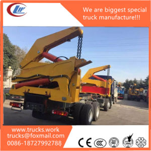 Sinotruk HOWO Hydraulic Lift a Load 20FT Container Crane Truck pictures & photos
