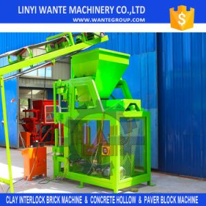 Industrial Machinery Equipment Wt2-10 Fully Automatic Clay Interlocking Brick Making Machine pictures & photos