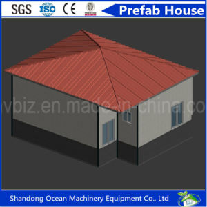 Beautiful Design European Style Prefabricated Modular House of Color Steel Sandwich Panel with Economical Budget pictures & photos