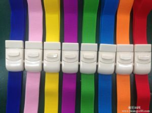 Quick Release Logo Label Printing Adult Elastic Buckle Type Latex Free Plastic Buckle Tourniquet pictures & photos
